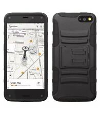 Black Advanced Armor Stand Phone Protector Cover Case for AMAZON Fire phone