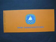 Berlin Sport Markenheft MiNr. 622 postfrisch**   (H 496)