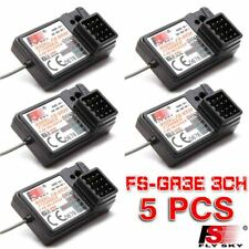 5 PCS Flysky FS-GR3E Upgraded AFHDS 2.4G 3CH Receiver for Car Boat RC FS-GT3C