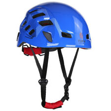 Unisex Mountaineering Helmet Safety Climbing Rappelling Protect Gear Blue
