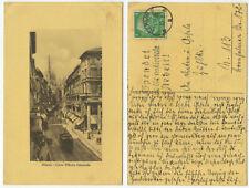 37387 - Milano - Corso Vittorio Emanuele - AK, gelaufen Berlin 24.10.1933