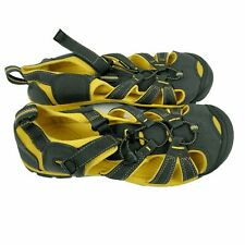 Keen Shoes Size 6 Hiking Sandals Black Yellow Mens