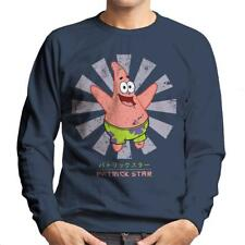 Patrick Star Retro Japanese SpongeBob SquarePants Men's Sweatshirt