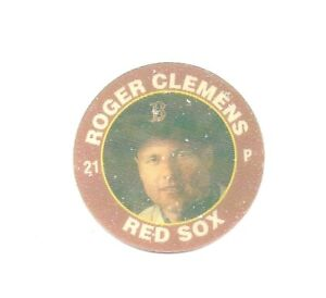 Roger Clemens 1992 Superstar Action Coin 7/11 Boston Red Sox 3 Of 26
