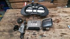 SEAT IBIZA MK4 1.2 AZQ ENGINE CONTROL UNIT ECU SET 03E906033P