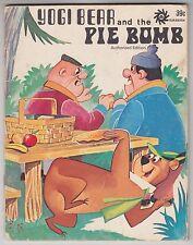 Hanna Barbera YOGI BEAR AND THE PIE BOMB Durabook 39003 Modern Promotions 1972