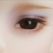 Dollmore Doll Eyes 14mm Classic Flat Back Oval Glass Eyes (HM10)