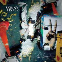 SKINNY LISTER-THE STORY IS...-IMPORT CD WITH JAPAN OBI E51