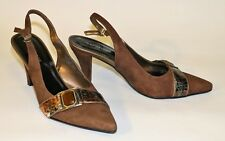 78% Off Venenose Womens Shoes Heels Genuine Leather KD53-9 Brown Size AU 7 EU 39