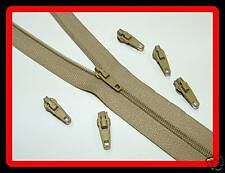 50 Mt Beige Upholstery Zips Cushions Continuous Zipping