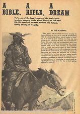 Fur Trappers & Mountain Men - A Bible, A Rifle, A Dream+Beckwourth,Bridger,
