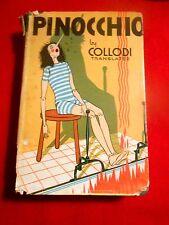 Goldsmith PINOCCHIO By Carlo Collodi w/ dustjacket