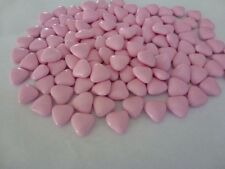 LUXURY PINK CHOCOLATE DRAGEES MINI HEART WEDDING FAVOURS X 100