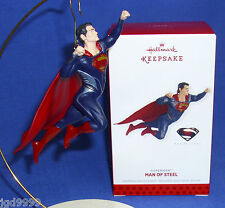 Hallmark Ornament DC Comics Superman Man of Steel 2013 NIB Free Shipping