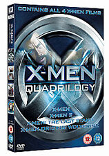 XMEN QUADRILOGY DVD New Sealed DVD    f