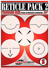 Reticle Pack 2 Crosshair Aim Bot Weapon Cheat PS4 Xbox One Screen Aiming Target