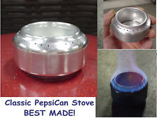 Backpacking & Camping - 'TOP JET' - Alcohol Stove Burner weighs only 0.3oz.