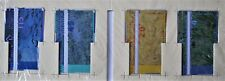 Vincent van Gogh phone card set of 4 The Netherlands 1990 Unused NEW in package