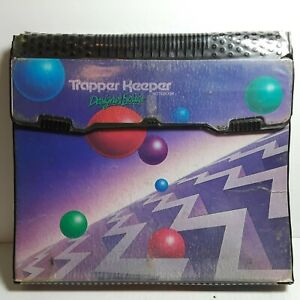 Vintage Trapper Keeper Notebook Binder Designer Series Mead 29100 Geometric Ball
