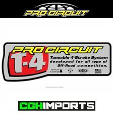 PRO CIRCUIT EXHAUST SILENCER REPLACEMENT STICKER DECAL MX ENDURO CLEARANCE T4