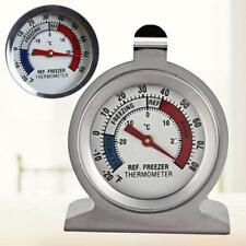 Stainless Steel Temp Refrigerator Freezer Thermometer Fast