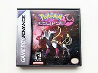 Pokemon Eclipse Game / Case Nintendo Game Boy (GBA) -  Fan Made (USA Seller)