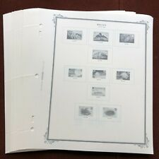 BELIZE 1983-88 SCOTT SPECIALTY Stamp Album Pages, Complete, Unused