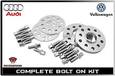 4pc Staggered 5mm & 12mm Hub Centric Wheel Spacers Kit 5x100 / 5x112 57.1mm