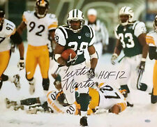 9df0f02cf Curtis Martin NY Jets 16x20 Photograph with Hall of Fame Inscription HOF  2012