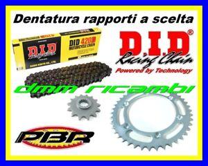 Kit Trasmissione APRILIA SX 50 10>11 catena corona pignone PBR DID 2010 2011