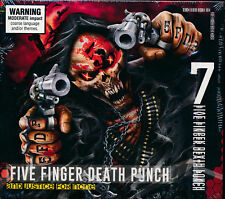 FIVE FINGER DEATH PUNCH And Justice For None (Deluxe Digipak) CD NEW Bonus Trax