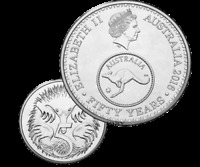 RARE Limited Edition 2016 Australia 5 Cents UNCirculated UNC Coin