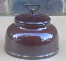 Vintage AFC CORNEVILLE PATENT Tobacco Jar
