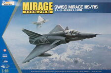Kinetic Models 1/48 Mirage Swiss IIIS/RS - K48058