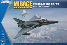Kinetic Models 1/48 Mirage Swiss IIIS/RS - K48058