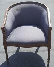 Gently Used Upholstered U-Back Side Chair - VGC - GREAT COLOR  COMFORTABLE CHAIR