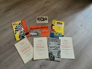 Job Lot Of ISLE OF MAN TT RACE Motor Cycle Programmes etc  from 1958