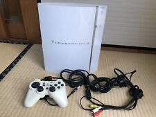PLAYSTATION 3 (80GB) Ceramic White PS3 SONY from Japan game Rare Free shipping