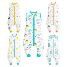 Baby Schlafsack Sommer mit Füßen 0.5 Tog Kinder Sommer Schlafsäcke mit Beinen