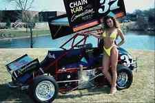 Metal Sign 717024 Dirt Race Cars And Women A4 12X8 Aluminium