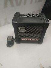 Roland Micro Cube Amplifier w/ Power Supply - Great condition
