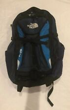 North Face Surge Backpack Blue Hiking Outdoors Daypack Bag