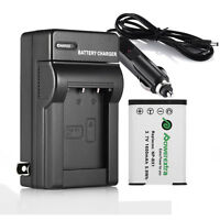 1600mAh NP-BX1 Battery + Charger For Sony CyberShot DSC RX100 II III HX50V WX300