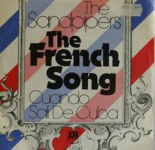 """THE BÉCASSEAUX - The FRANÇAIS SONG - CUANDO SALI DE CUBA - 7""""SINGLES (h590)"""