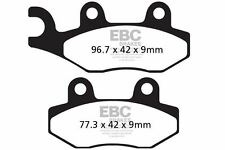 "FIT KYMCO Agility 125 4T (U62000/1 - 12"" Wheel 06>14 EBC FRONT CARBON BRAKE PADS"