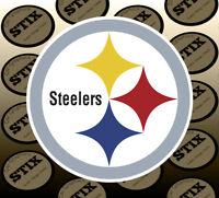 Pittsburgh Steelers Logo NFL Die Cut Vinyl Sticker Car Window Laptop Wall Decal