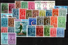 sellos Europa CEPT 1966 completo MNH**