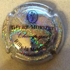 Capsule de champagne TIECHE-MORIZET (11e. fond pailleté)