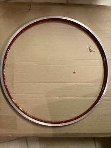 """Sun 0° XC Race Rim 26"""" 559 Red 90's Vintage Cycling"""