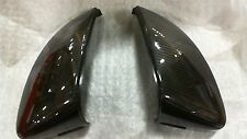 2017 Audi A4 Carbon Fiber Mirror Caps ***WITHOUT SIDE ASSIST*** ***OEM NEW***